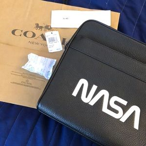 Coach/NASA shoulder bag